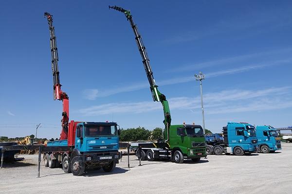 Servicio de camiones-grúa
